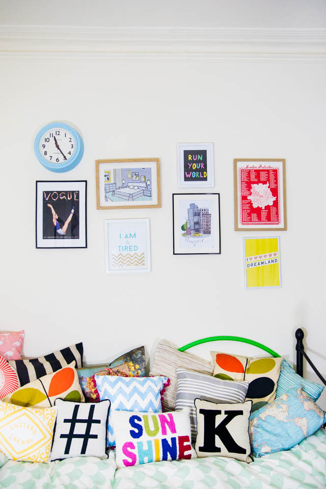 how to furnish a rented bedroom