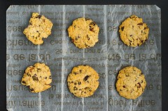 Chocolate Chip Cranberry Oatmeal Cookies