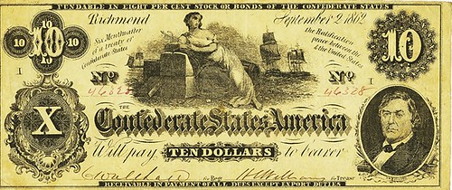 Confederate-States-of-America-10-dollar-T-46-note
