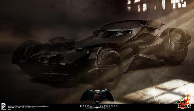 Hot Toys – 蝙蝠俠對超人:正義曙光【蝙蝠車】Batmobile 1/6 比例可動載具
