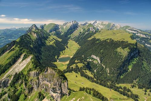 switzerland appenzellerland alpstein säntis