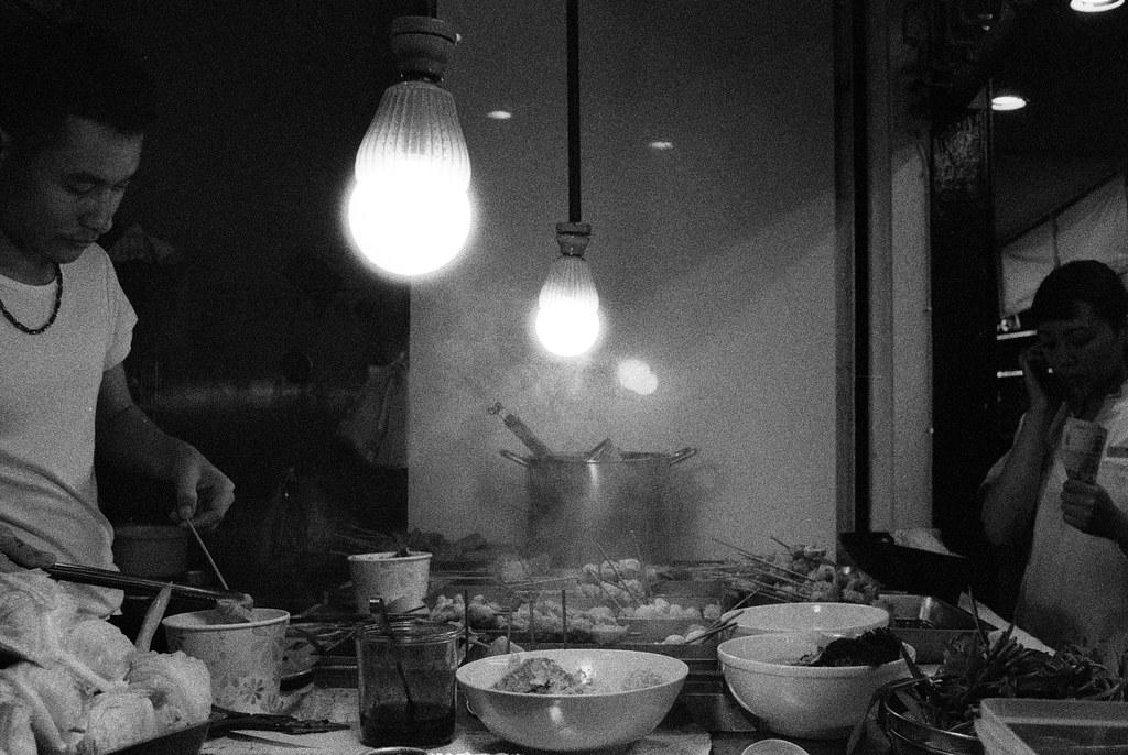Night food in Taipei