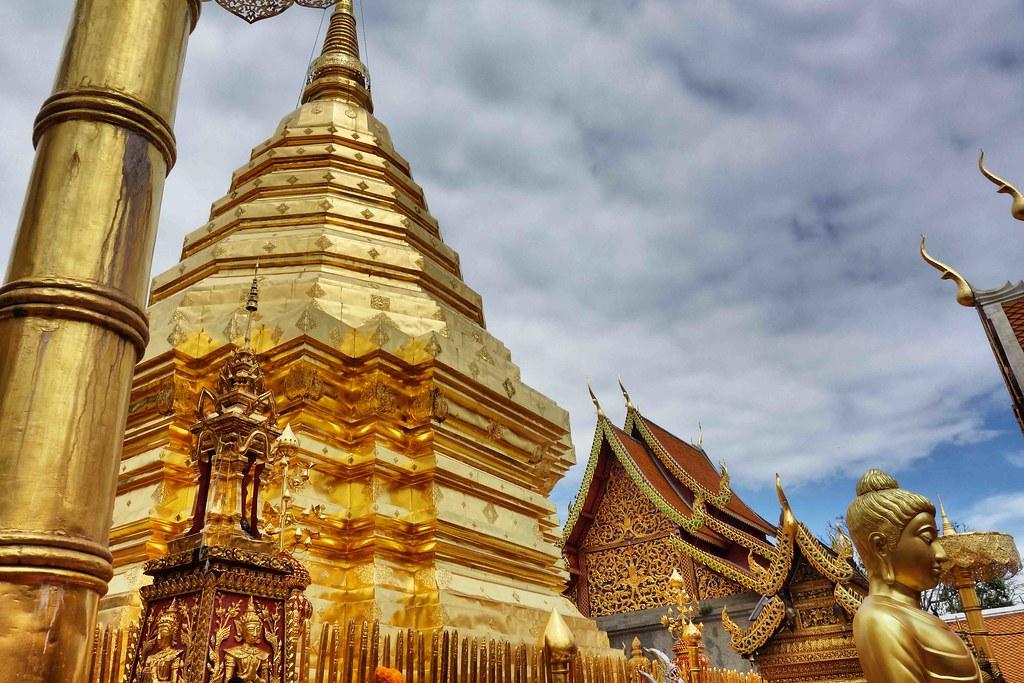 Temple Doi Suthep à Chiang Mai