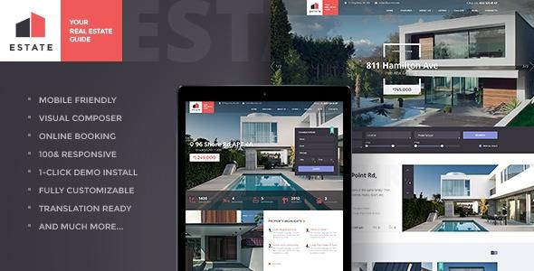 Estate v1.1 - Property Sales & Rental Theme
