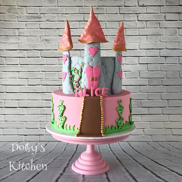 Castle Cake by Dotty's Kitchen