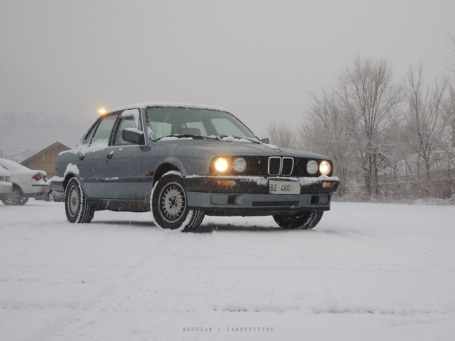 first snow (finally!), Nikon COOLPIX P310
