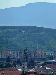 Košice, Slovakia with Bradlo hill (830m) above