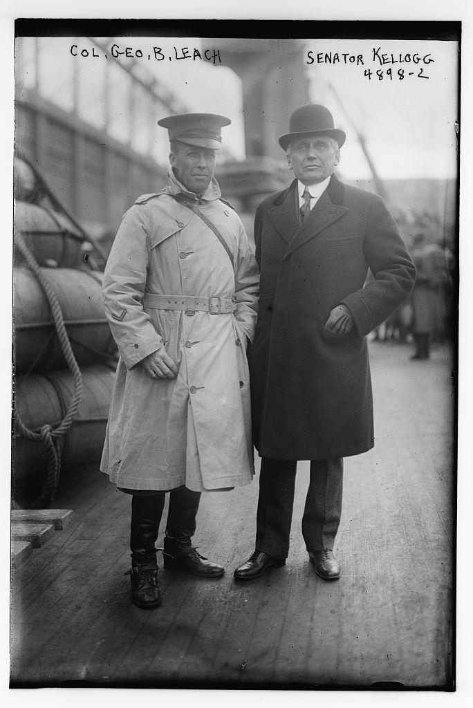 Col. Geo. B. Leach & Senator Kellogg (LOC)
