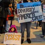 01-31-2017 Anti-Trump Protest - Belleville Illinois - No 11