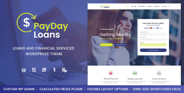 Payday Loans v1.0.3 - Banking, Loan Business and Finance