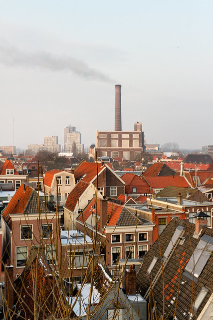 View from the Burcht - Leiden, The Netherlands