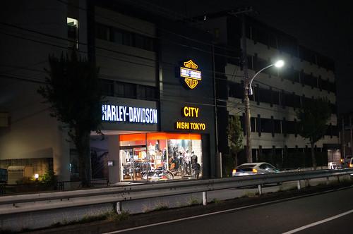 Harley at Tokyo