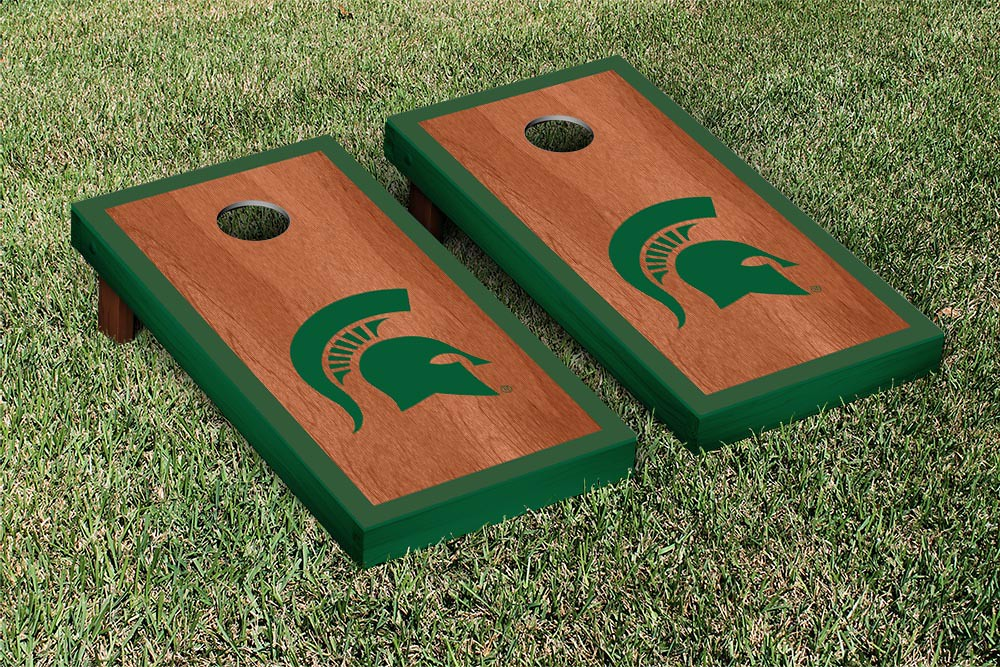 Michigan State Spartans Rosewood Border
