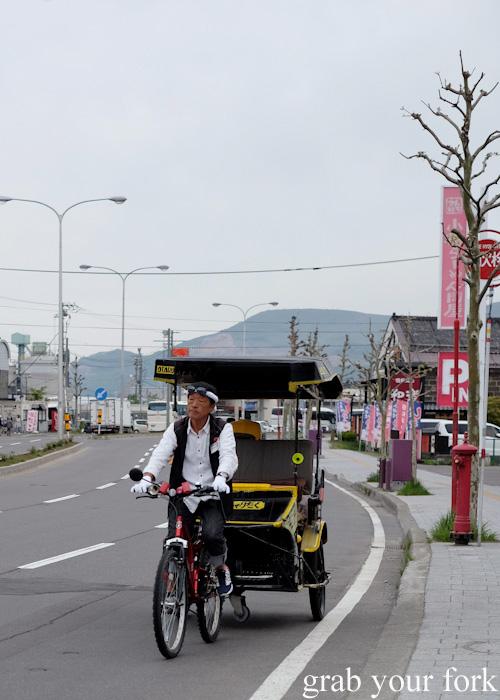 Rickshaw in Otaru, Hokkaido