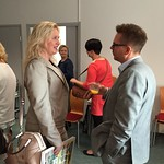 To, 10/09/2015 - 09:29 - Menestys, luovuus, työnilo, työn tehokkuus ja tiimityön voima olivat avainsanoja aamukahvitilaisuudessa torstaina 10.9.2015 Treenixin tiloissa. Tilaisuudessa puheenvuorot olivat Johanna Väyrysellä (Wirma Lappeenranta Oy), Esa Kalliolla (Lähitapiola Kaakkois-Suomi), Kati Räisäsellä (CDM Oy), Mari Ravattisella (Treenix Oy) ja Jami Holtarilla (Etelä-Karjalan Yrittäjät ry). Kiitokset kaikille osallistumisesta ja energisestä tilaisuudesta.