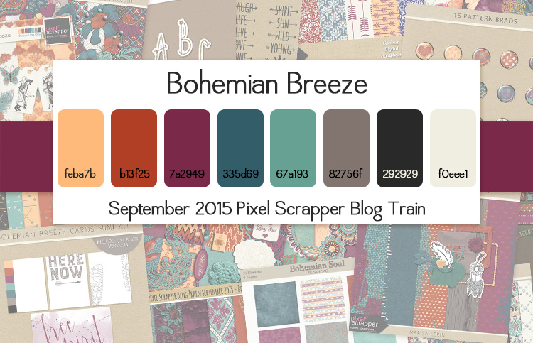 Blog Train Palette/Preview