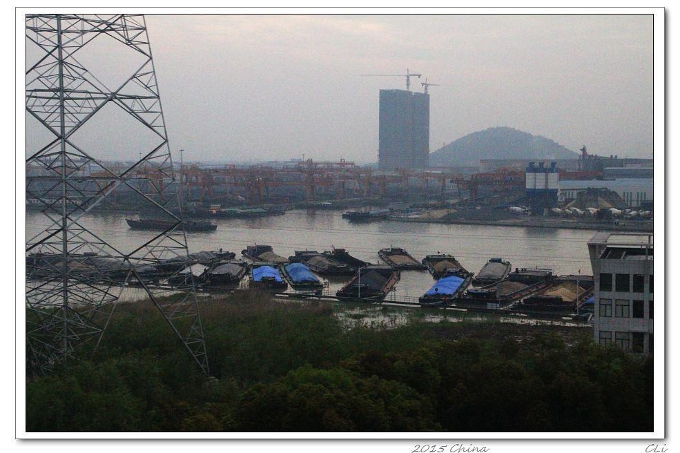 2015閒遊中國11 在希望的田野上:杭州到北京高鐵沿途美麗農村風光