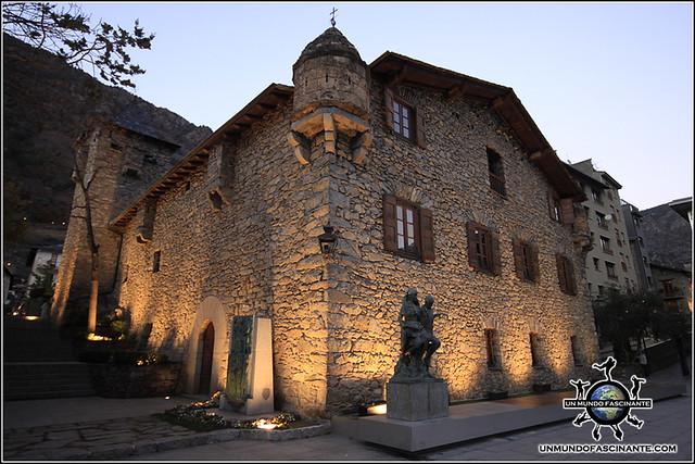 Casa de la Vall, Andorra La Vella. Andorra.