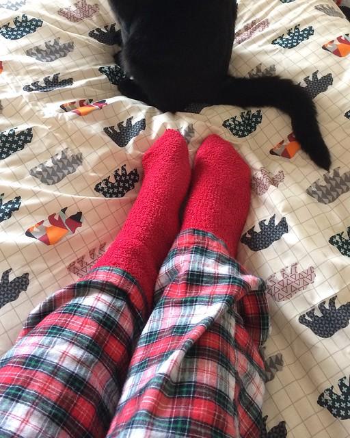 Autumn bedding - Socks