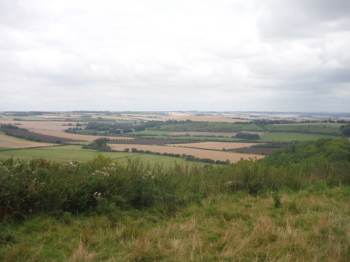 The Chalke Valley, from Elcombe Down