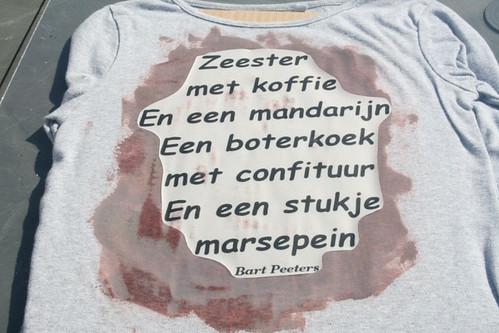 T-shirt met Inkodye