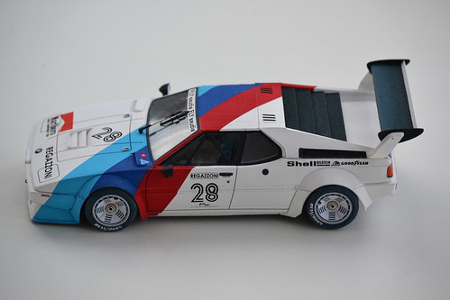 BMW M1 Paper model | by efremoviv
