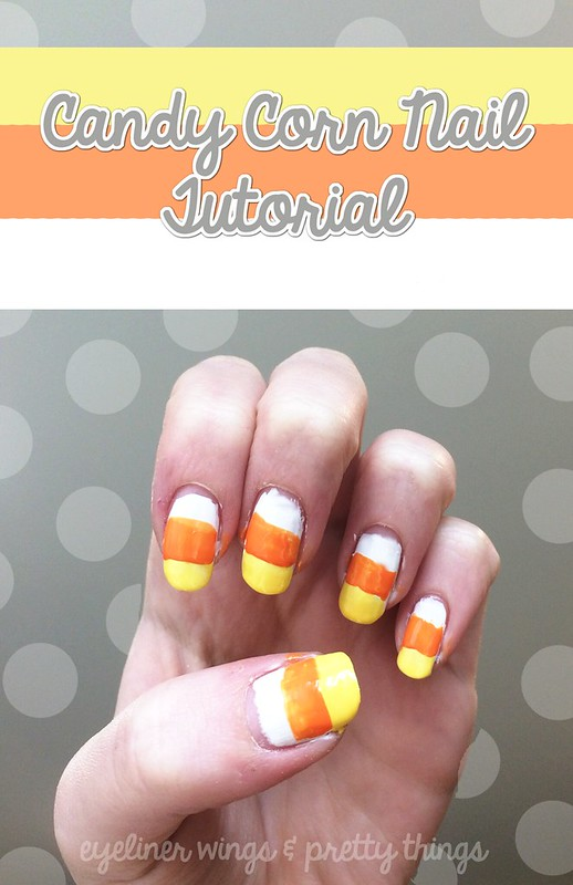 Candy Corn Nail Design Archives Eyeliner Wings Pretty Things