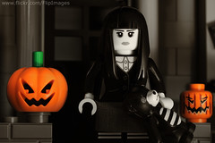 Spooky Girl - Black and White