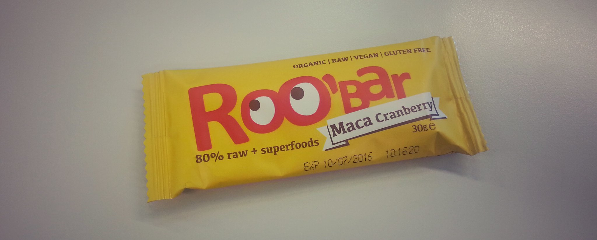 Roo'Bar Maca Cranberry