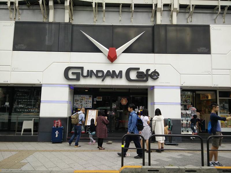 Gundam Cafe Tokyo, Japan | packmeto.com