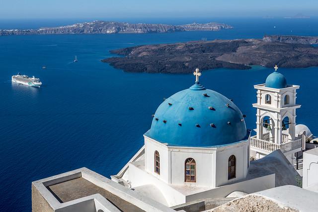 Santorini, Greece - Imerovigli