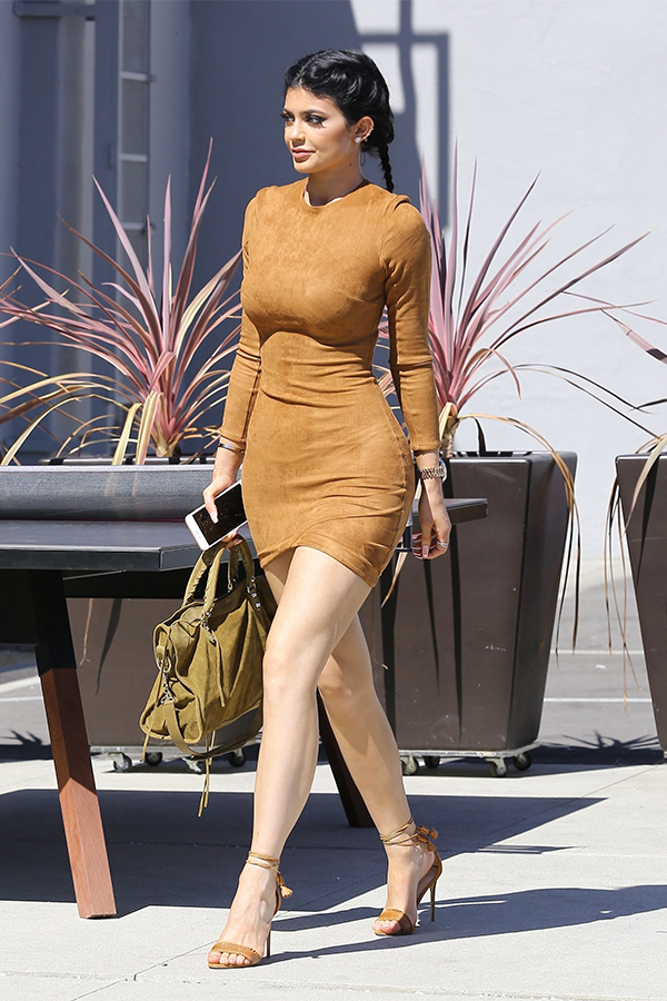 Kylie Jenner Heading to Smashbox Studios in Culver City
