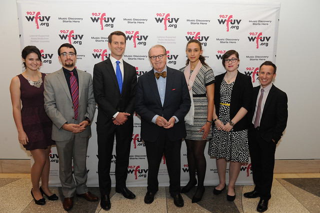 On the Record 2015: Charles Osgood & the WFUV News Team