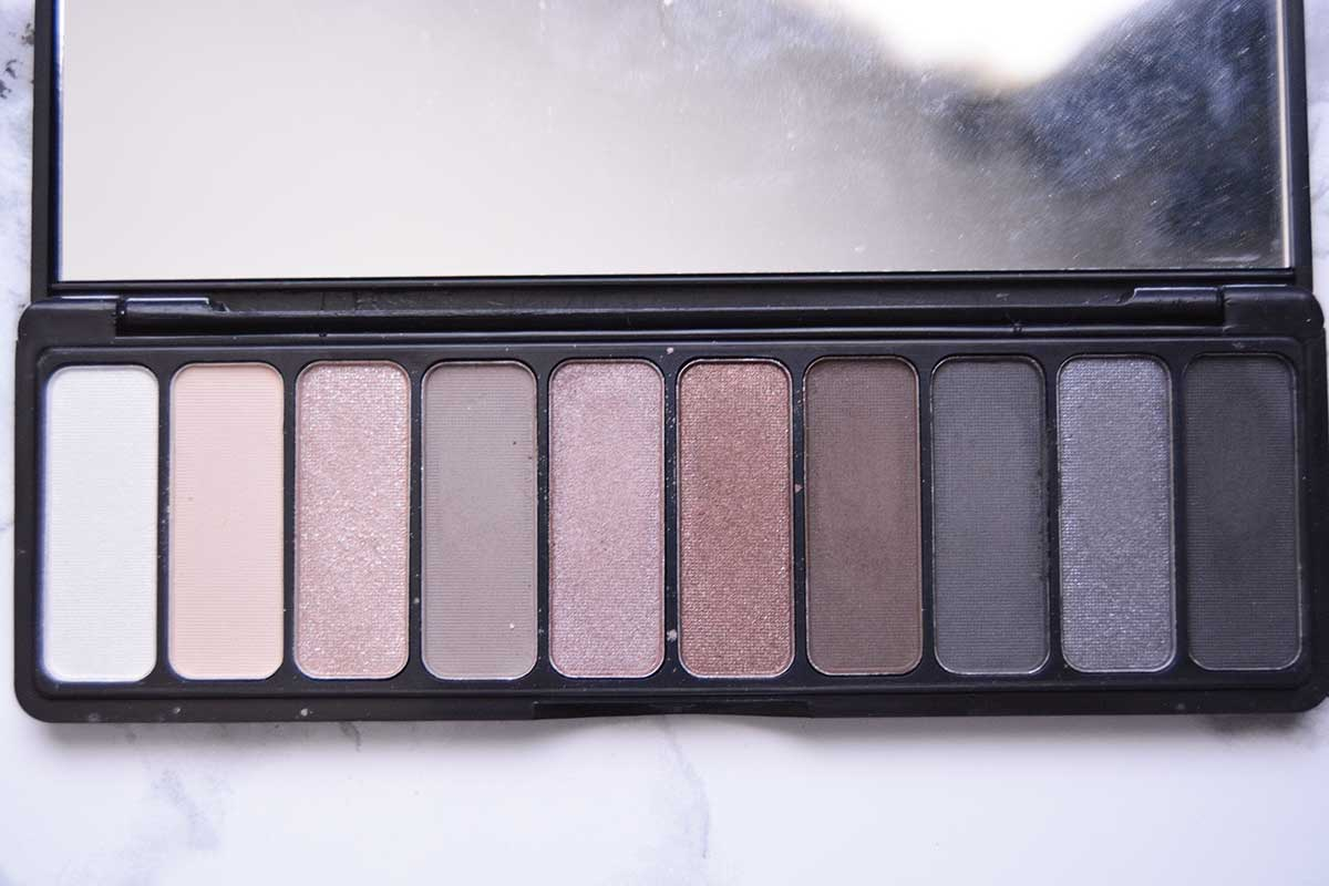 elf Everyday Smoky Palette Review