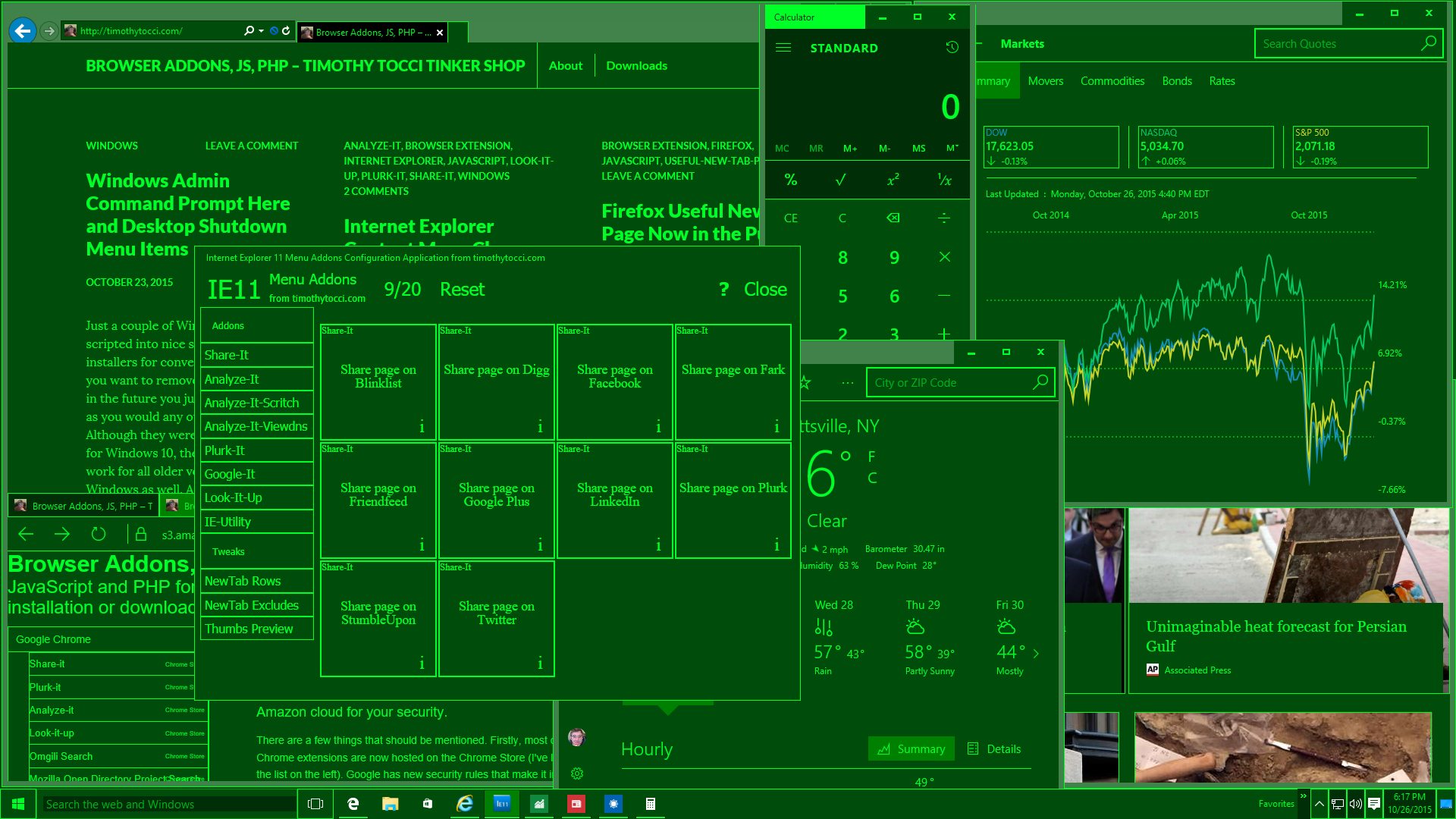 MilSpecGreen Windows 10 Apps
