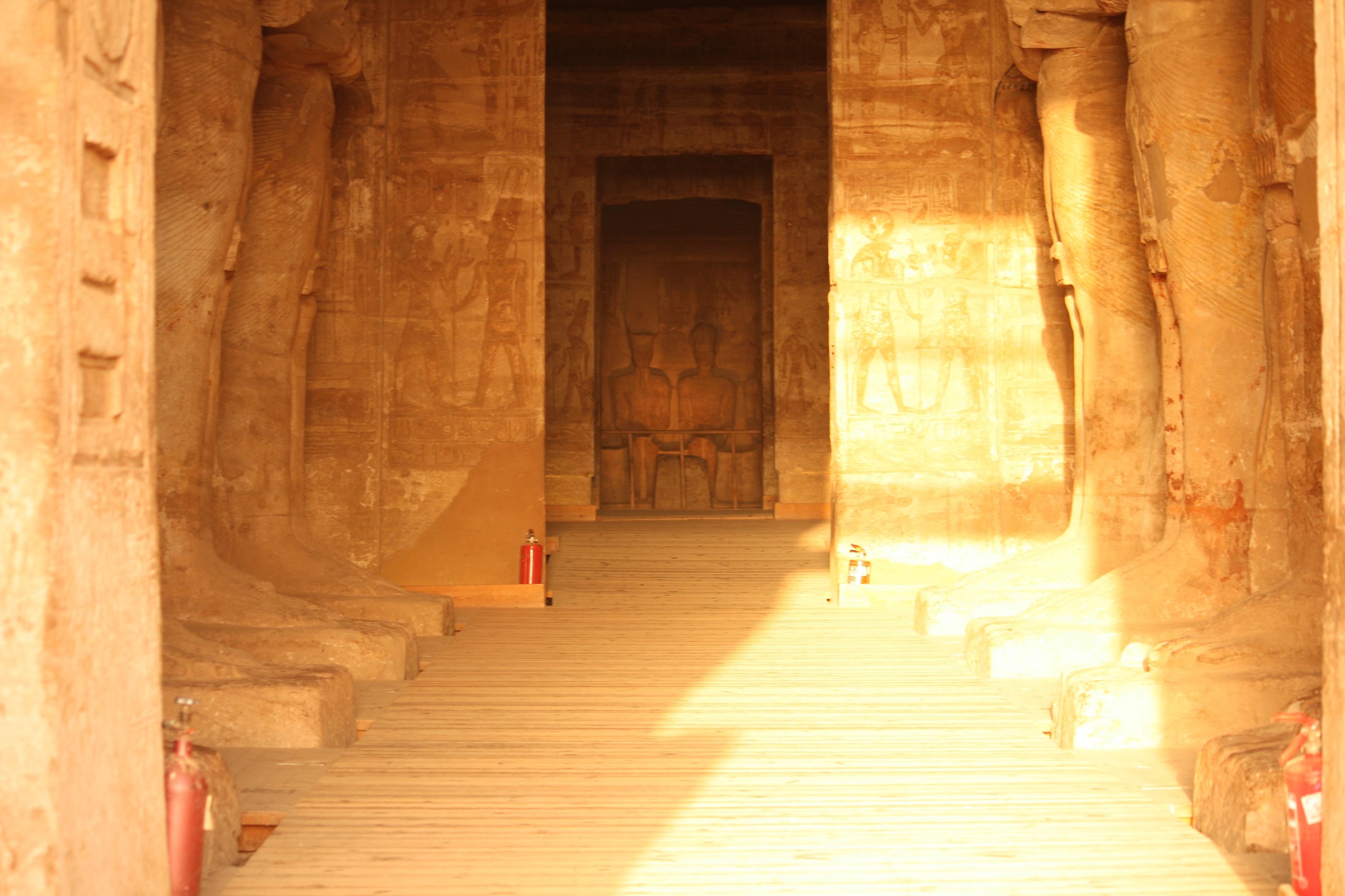 Abu Simbel Ein Tag zu früh