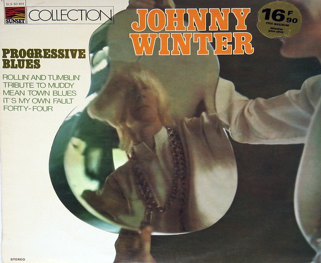 Johnny Winter Progressive Blues Sunset SLS 50301 France