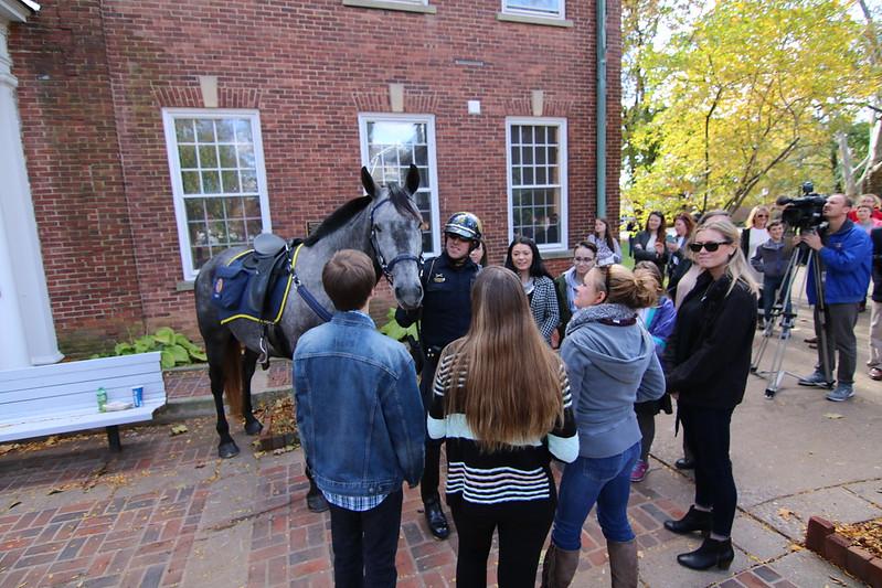 Bethlehem Police Horse Naming Ceremony