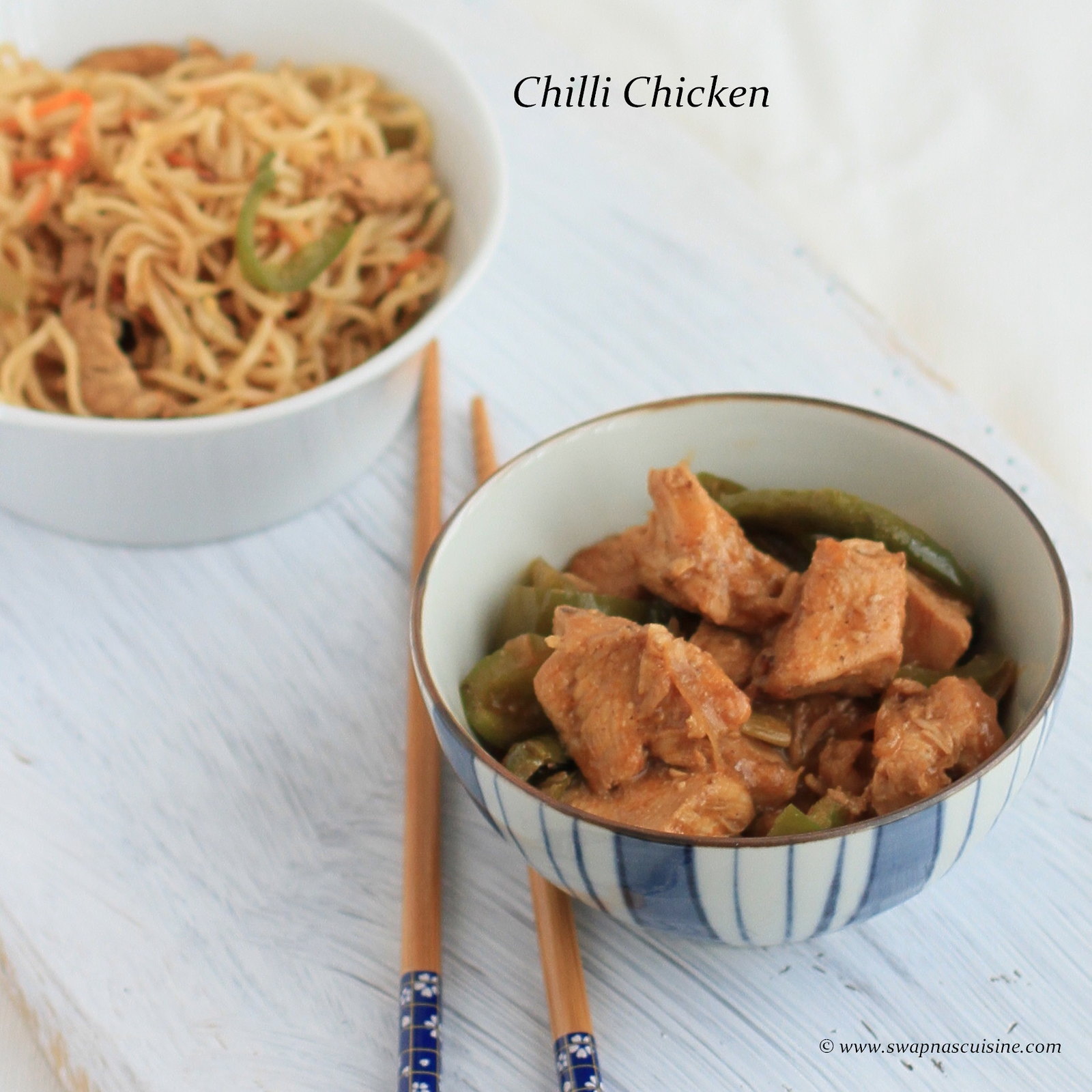 Recipe for Chilli Chicken