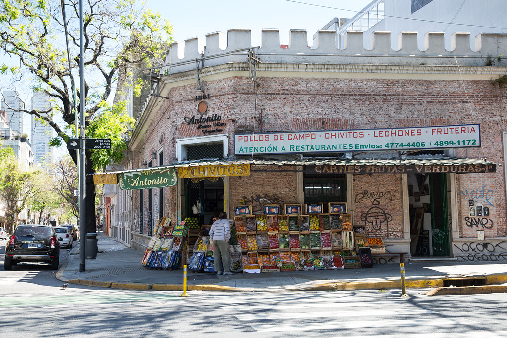 Exploring the Palermo neighborhood