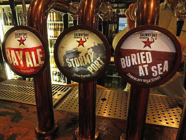 Beer Taps at Dublin's Black Sheep Pub