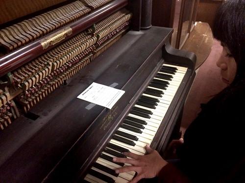 Ana Antique Piano Testing (November 13 2014)