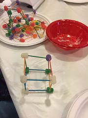 Making gumdrop cubes