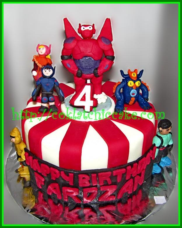 Cake Baymax / cake big hero 6
