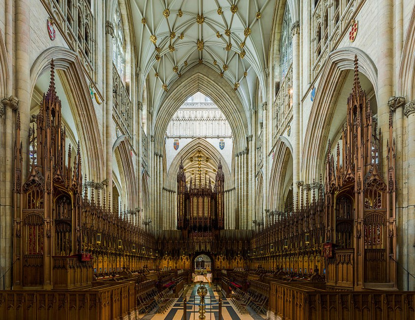 York Minster - The Choir. Credit: David Iliff