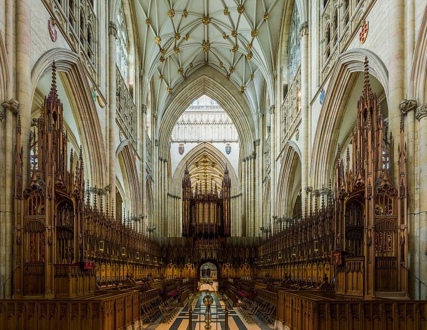 York Minster - The Choir. Credit: David Iliff