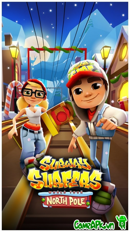 Subway Surfers v1.48.3 hack full tiền cho Android