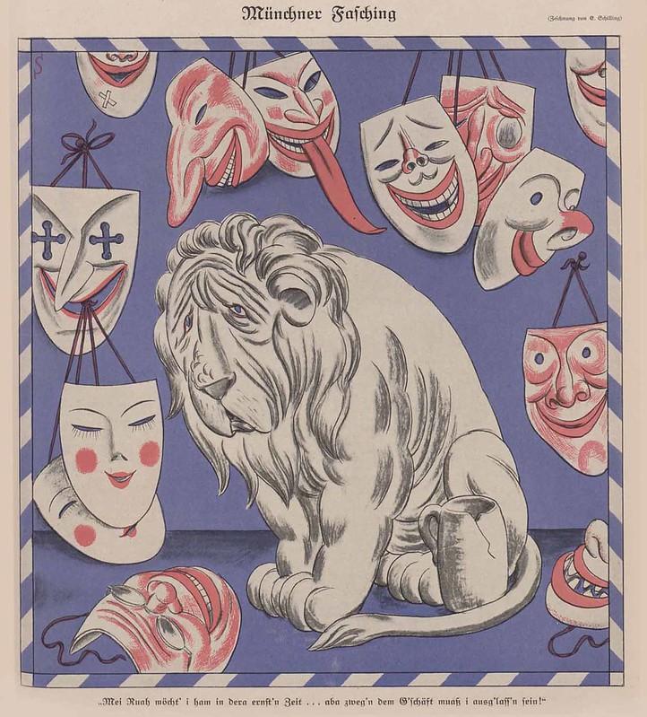 Erich Schilling - Munich Carnival, 1926