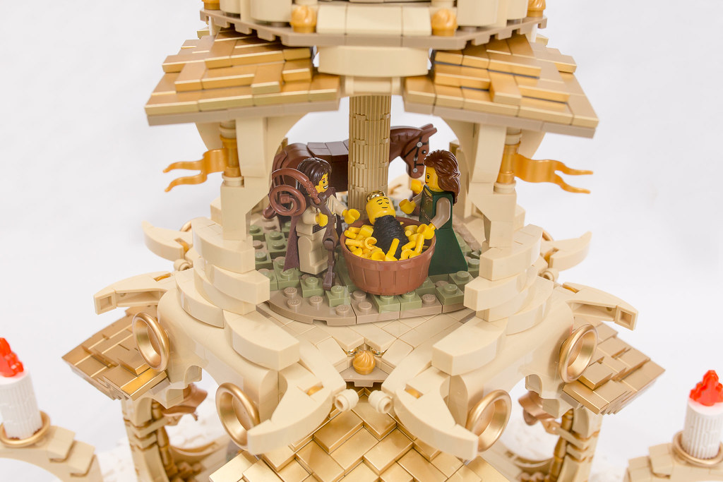 [BuildtheBrick #2]: Weihnachtspyramide 23246572214_7950a16011_b