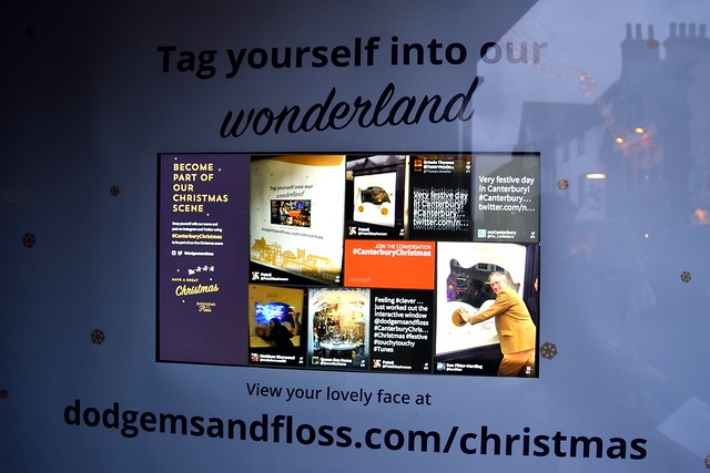 Dodgems and Floss Interactive Christmas Window, Canterbury | www.rachelphipps.com @rachelphipps